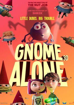 دانلود انیمیشن Gnome Alone 2017 دوبله فارسی با لینک مستقیم