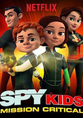دانلود رایگان دوبله فارسی انیمیشن بچه های جاسوس : ماموریت بحرانی 2018 با کیفیت عالی کیفیت BluRay 720p دوبله فارسی